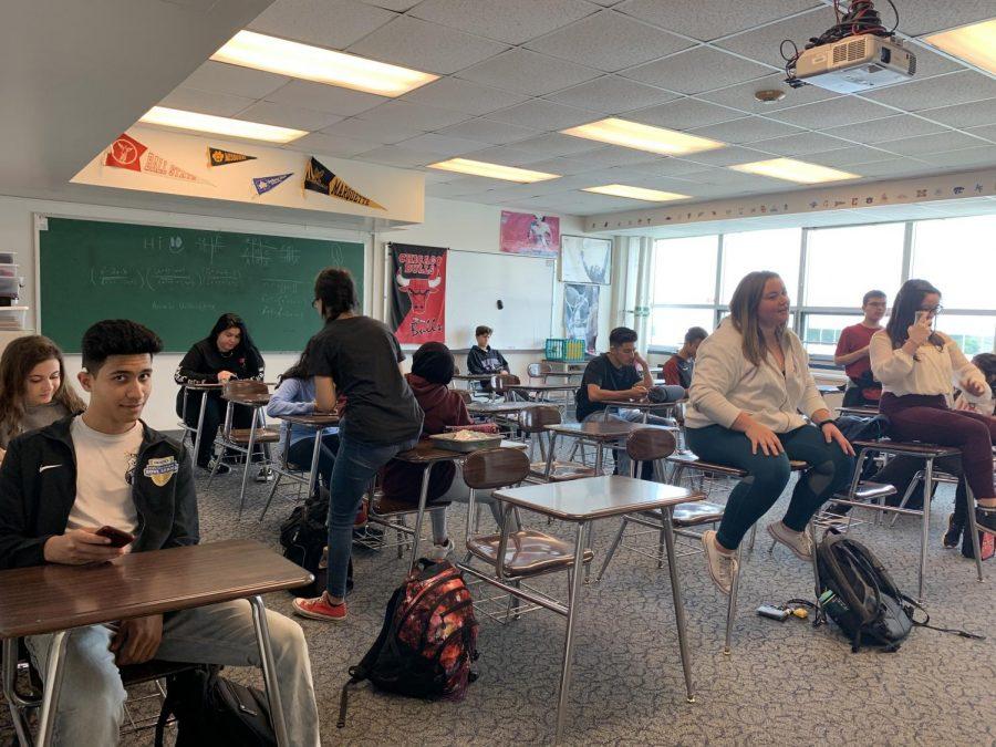 A+senior+homeroom.+