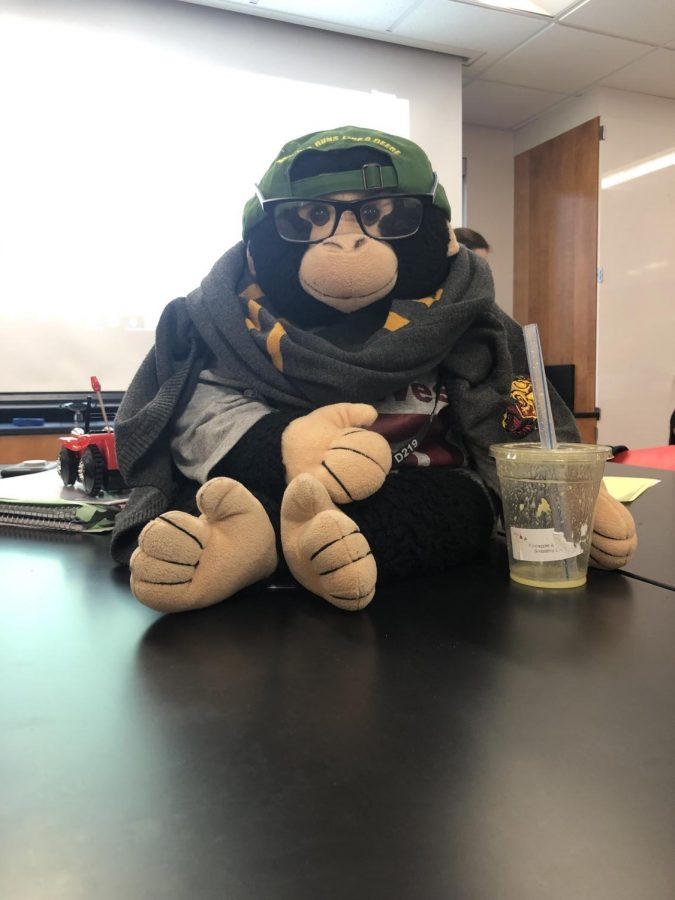 Mr. Monkey, Providing Comfort to All Students