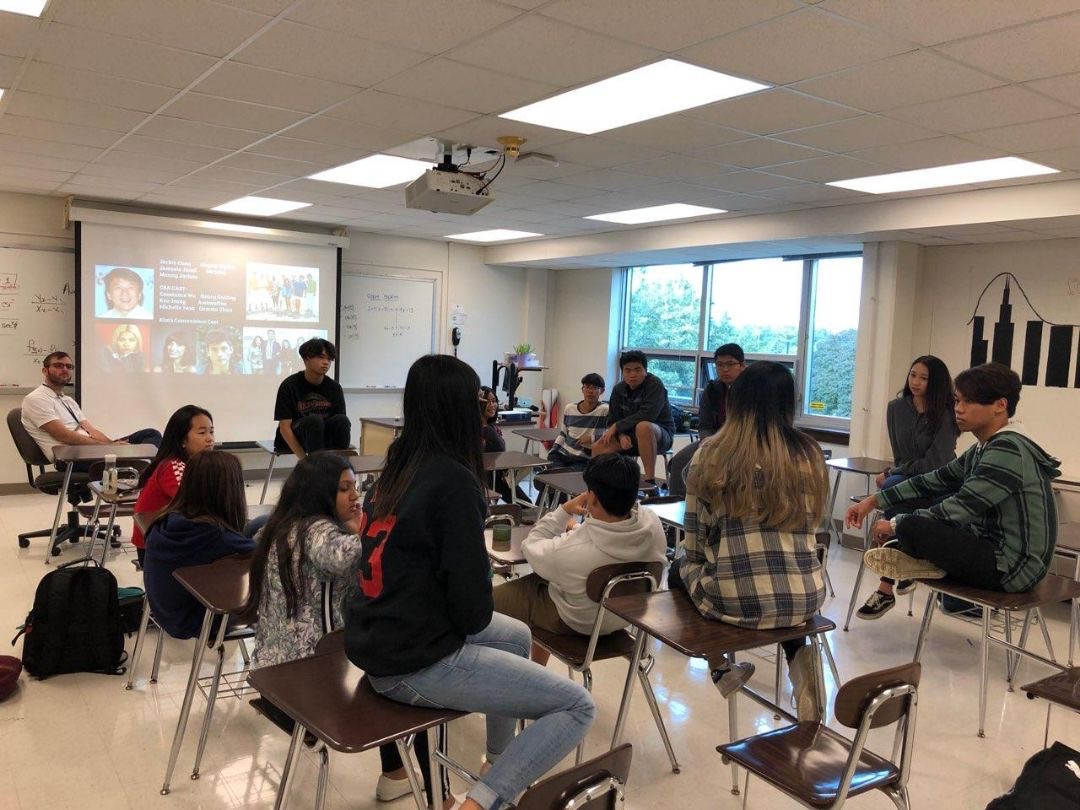 PASA members meeting after school on a Thursday.