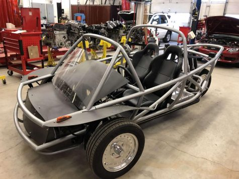 High Mileage Club Builds Electric Car from Scratch