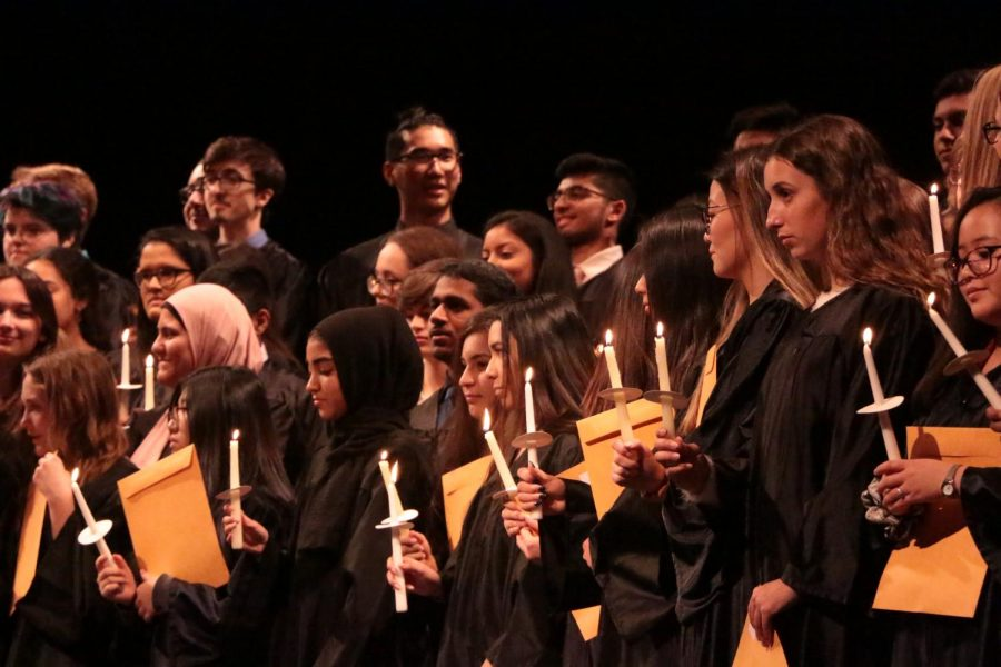 National Honor Society Inducts Class of 2020 Members