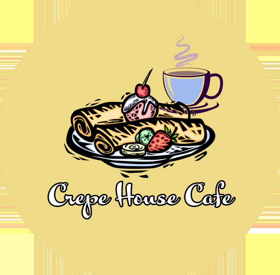 The Crepe House Cafe logo.