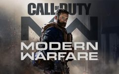 Poster for recent Call of Duty Modern Warfare video game.