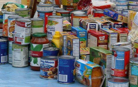 Students can donate canned food through the Student Activities food drive until November 15.
