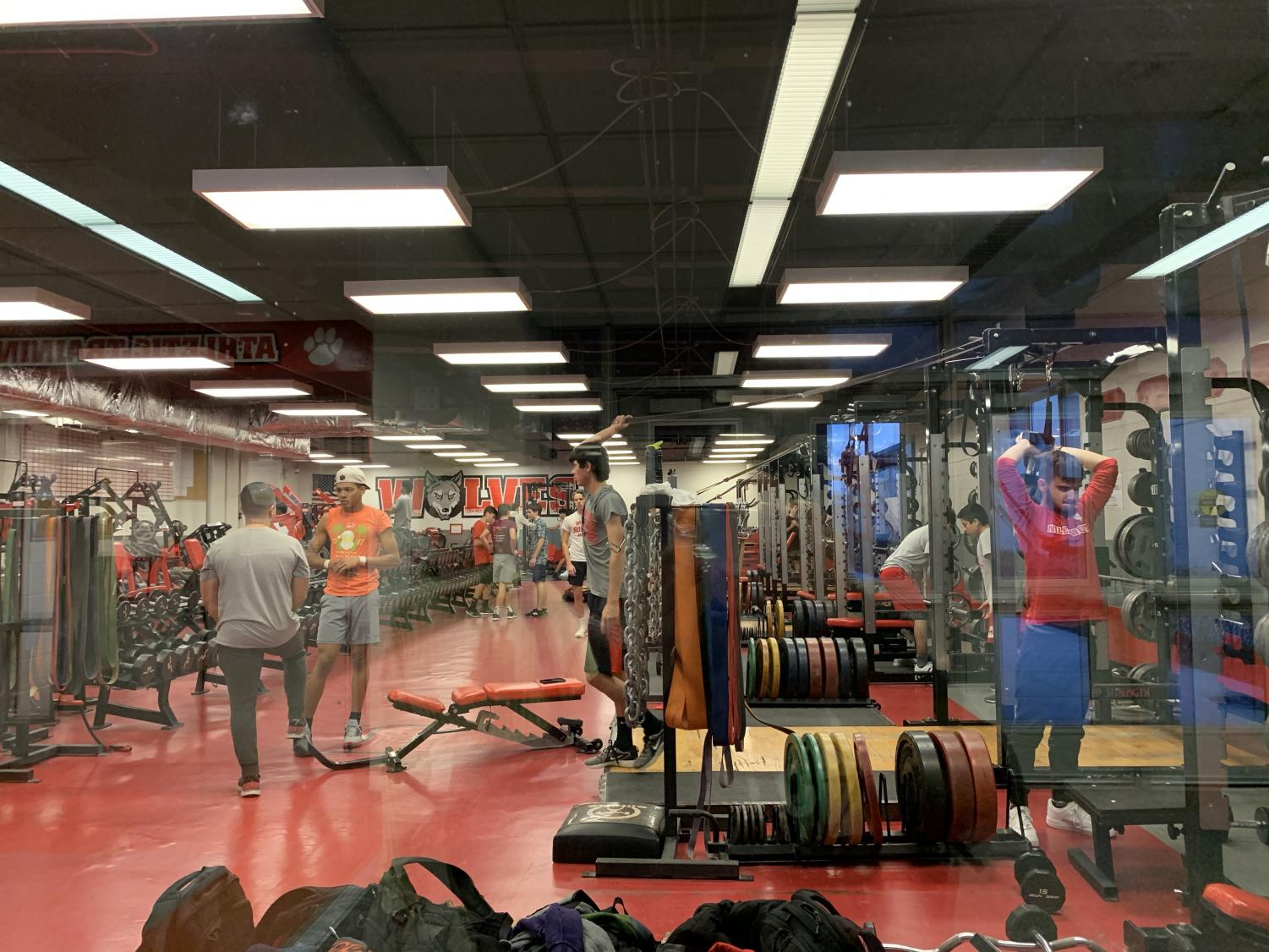 Students are now able to access the weight room after school.