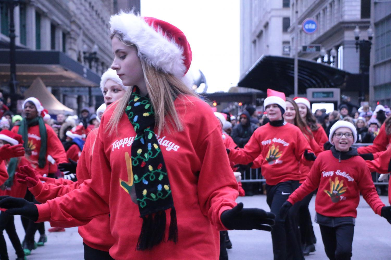 Tap+dancers+tap+away+through+the+parade.