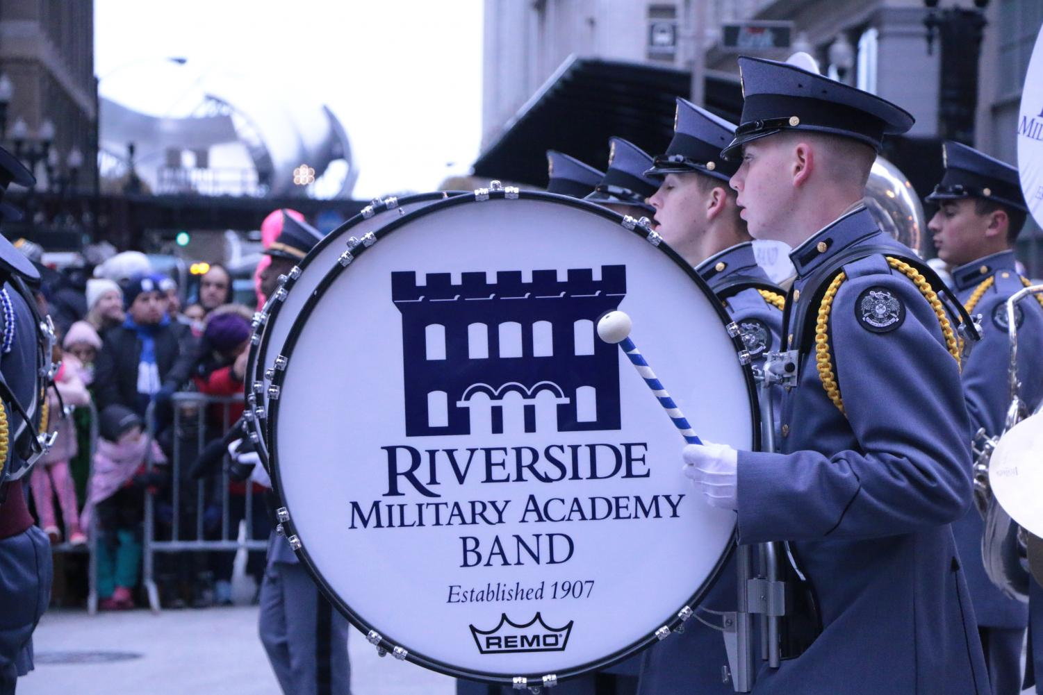 Riverside+Military+Academy+Band+drummer+drumming.