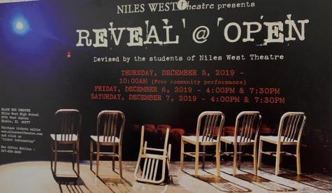 """Niles West Theatre Presents """"Reveal @ Open"""""""