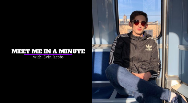 Meet Me In A Minute: Evin Jacobs