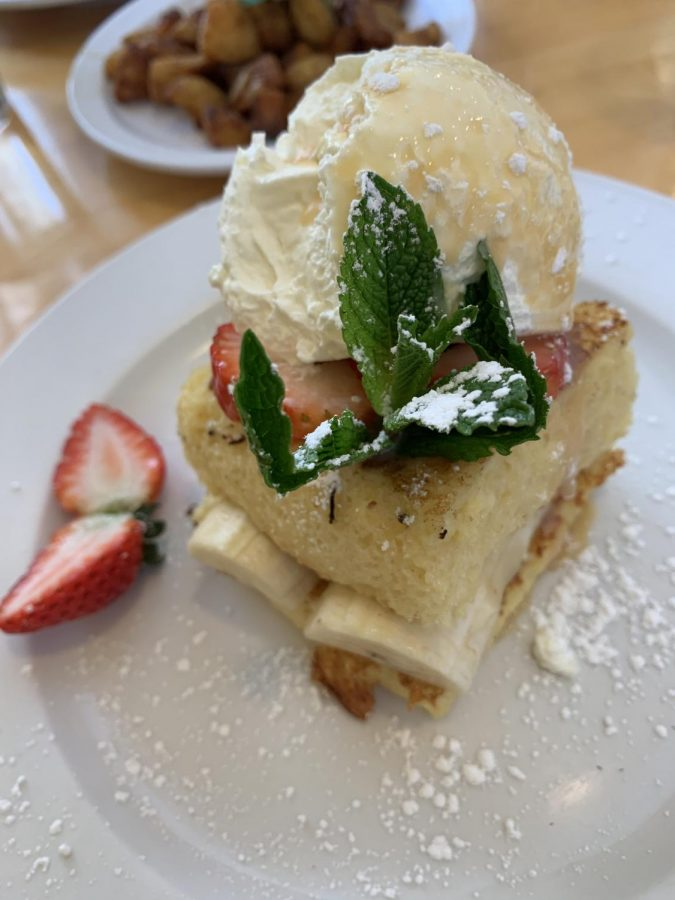 Tres leches french toast at Alexander's.