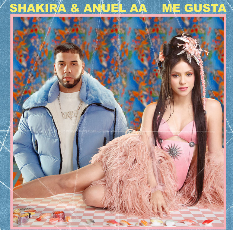 Cover+art+for+Shakira%27s+new+single+%22Me+Gusta%22+with+Anuel+AA.+