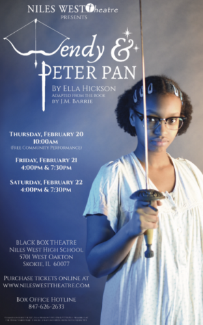 """Niles West Theatre to Perform """"Wendy and Peter Pan"""""""