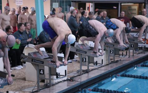 Boys Swimming Competes at State 2020