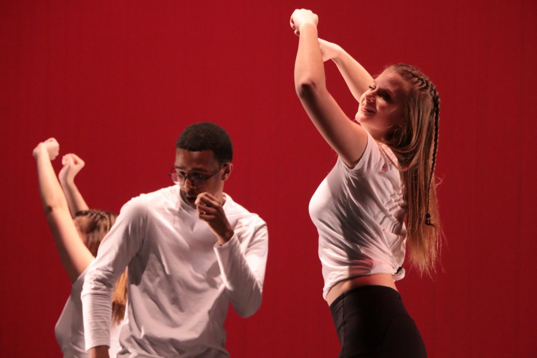 Junior+Josephine+Thannert+hitting+her+dance+moves+during+%22Crazy+in+Love%22.+