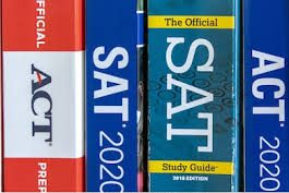 A popular way students have been prepping for the SAT and ACT at home is by using College Boards official test guides.
