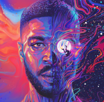 Cover art for Kid Cudi's album
