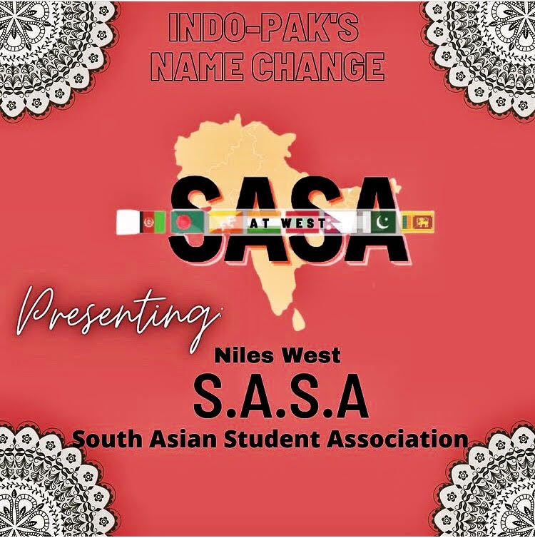New South Asian Student Association club logo following name change.