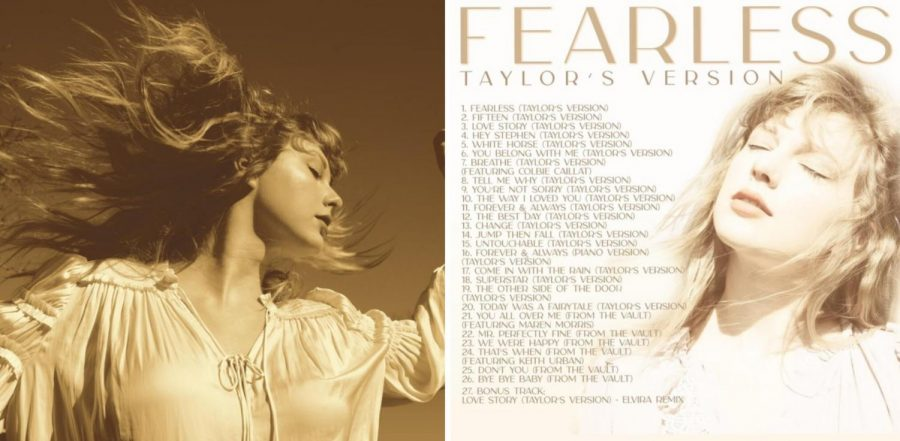 Taylor+Swift+Releases+First+Re-Recorded+Album%3A+%22Fearless+%28Taylor%27s+Version%29%22