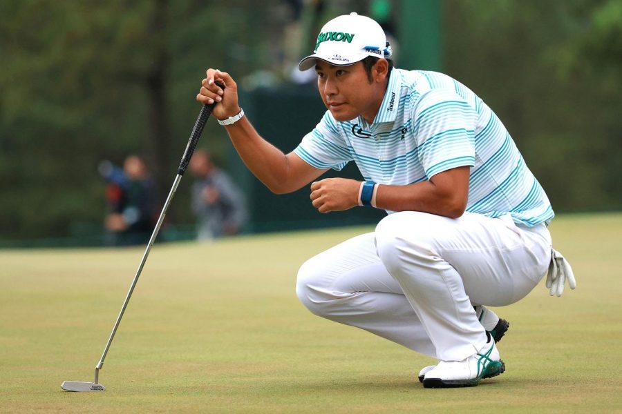 The winner of the 2021 Masters, Hideki Matsuyama.
