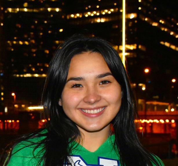 Kalchik smiling for a photo.