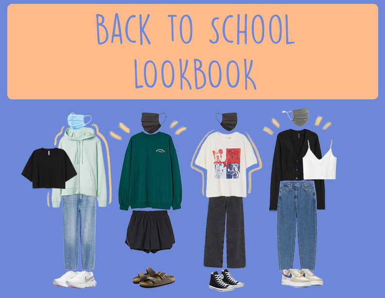Outfit ideas to wear now that we are back in person!