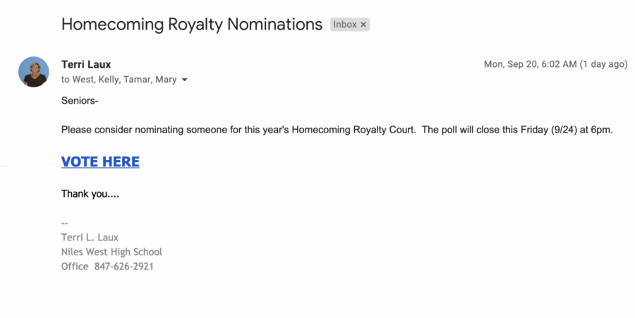 Homecoming Royalty Court Open for Nominations