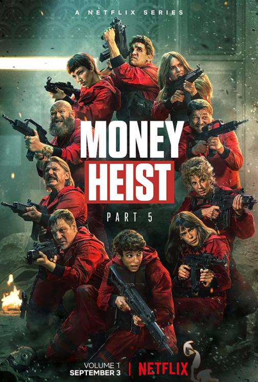 Poster for Money Heist.