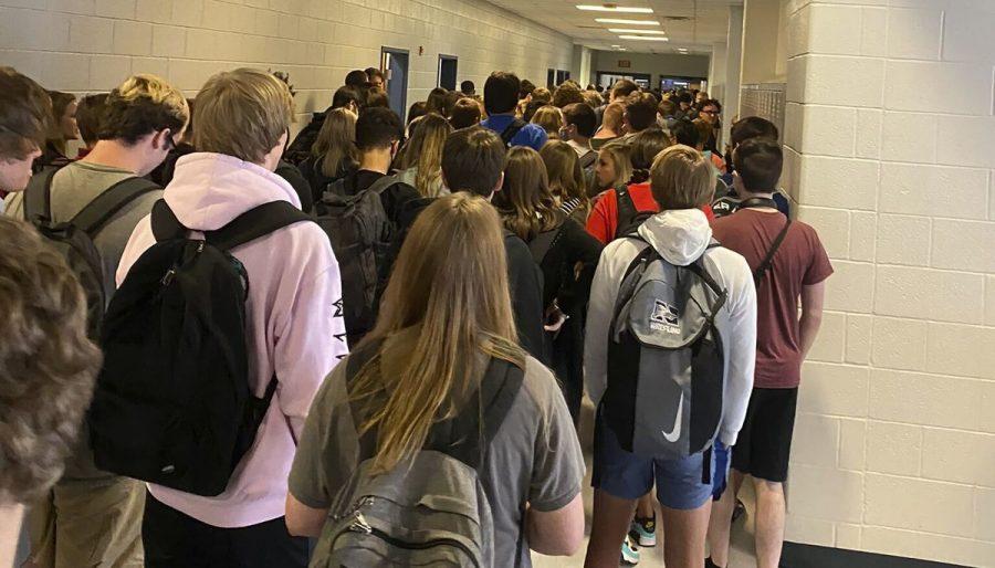 Niles West's Hallway Problem
