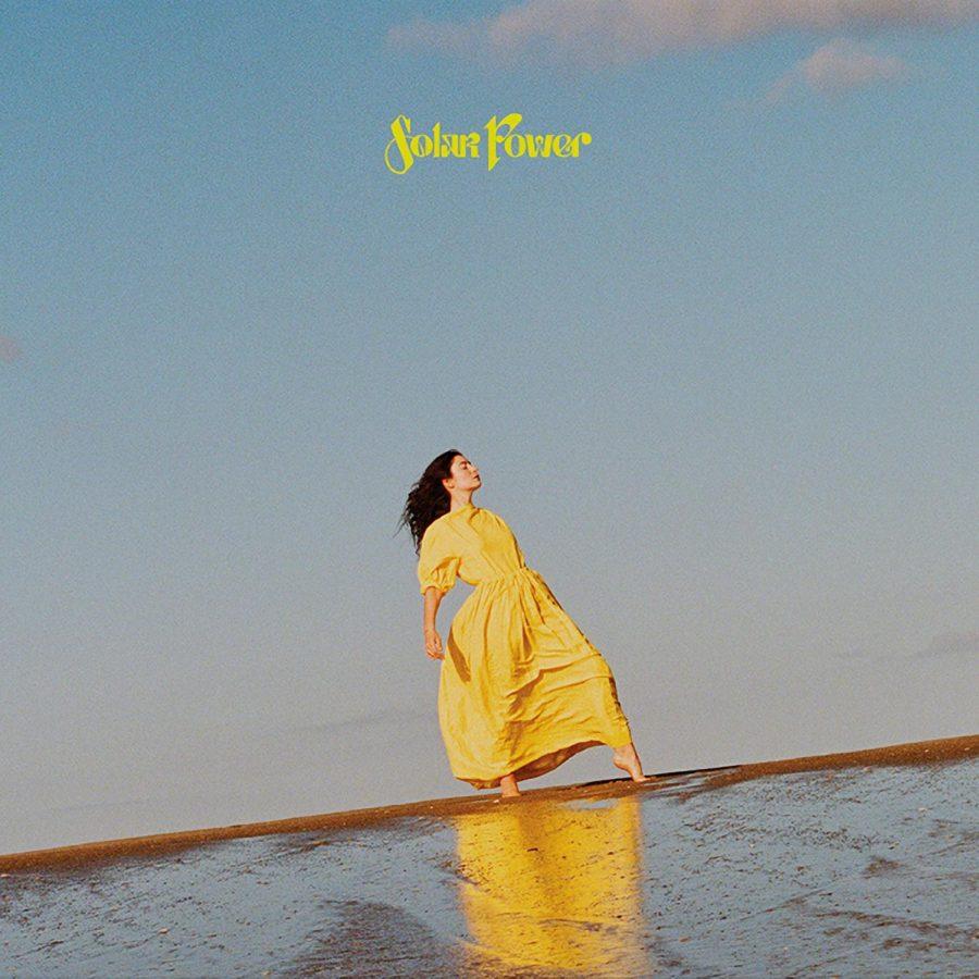 Cover of Lordes third album, Solar Power.