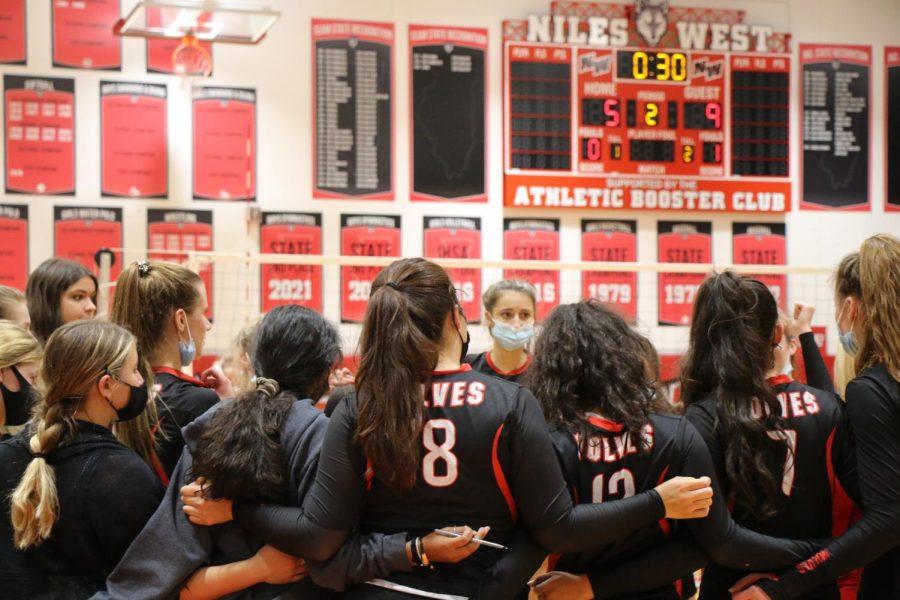 Girls Varsity Volleyball vs. Loyola Academy