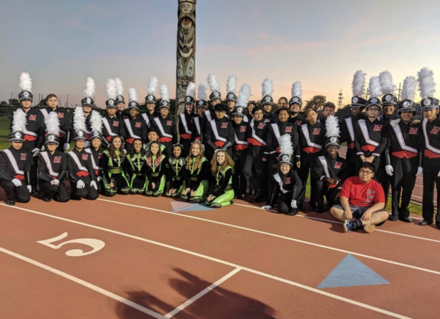 The marching band will be playing during the Oct. 9 Homecoming Football game against Maine South, overall missing a majority of the Homecoming festival.
