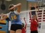 Girls\' Varsity Volleyball: West vs Maine West